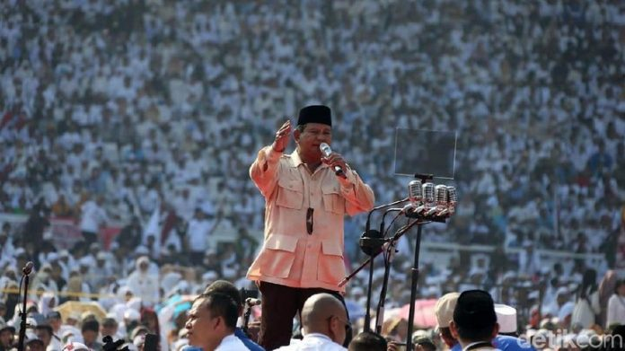 Kampanye Prabowo di GBK
