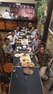 Alumnus SDN 01 Kebayoran Lama Jakarta Selatan berfoto bersama
